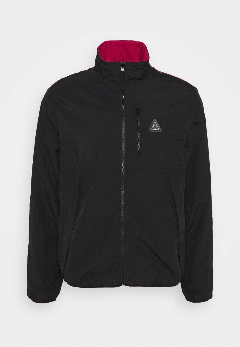 HUF - CRISIS REVERSIBLE JACKET - Summer jacket - black