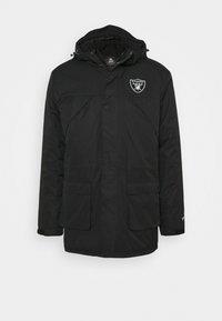 Fanatics - NFL OAKLAND RAIDERS ICONIC BACK TO BASICS HEAVYWEIGHT JACKET - Sportovní bunda - black - 5