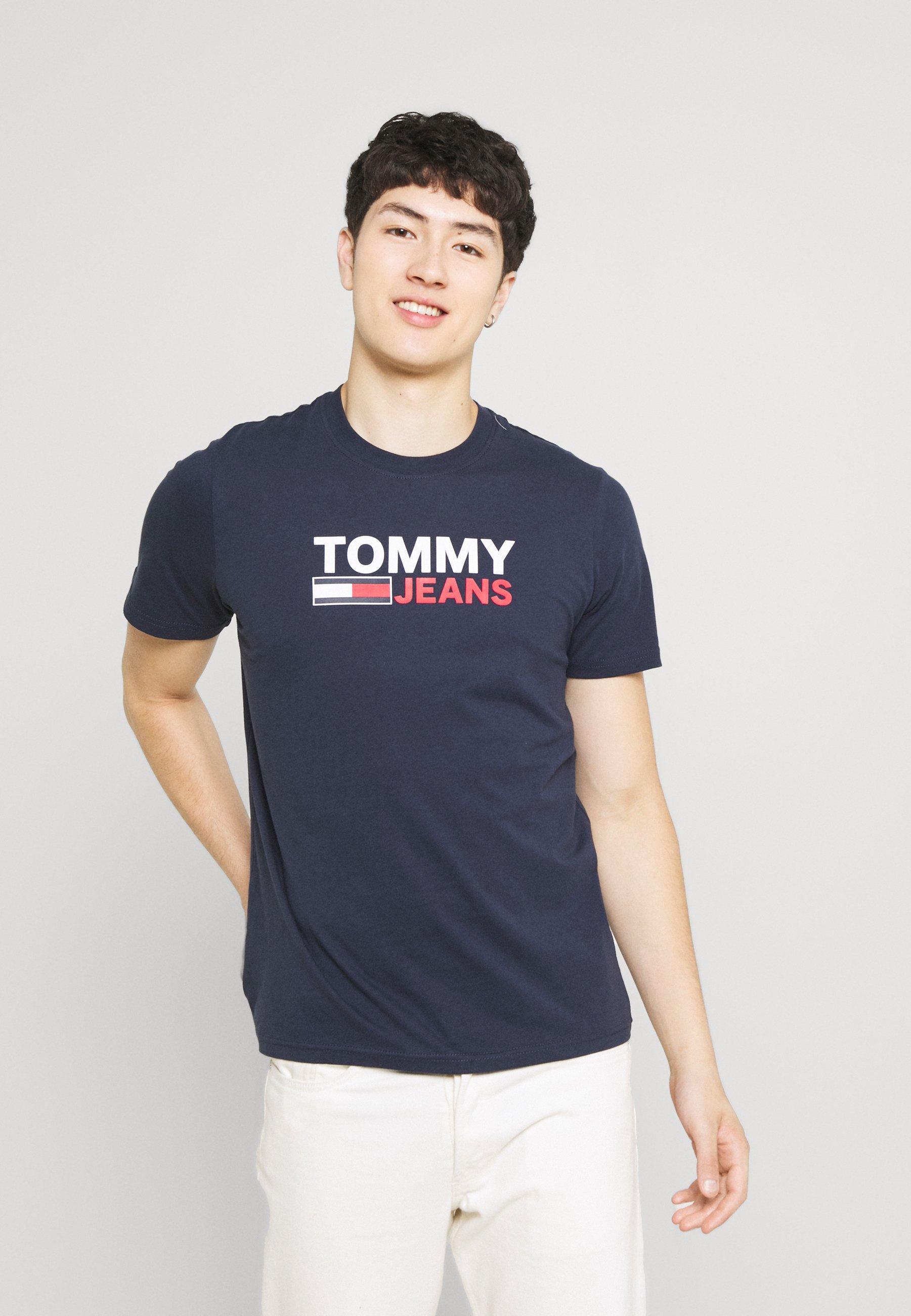 Homme CORP LOGO TEE - T-shirt imprimé