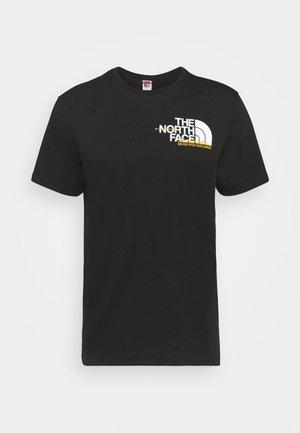 COORDINATES TEE  - T-shirts print - black