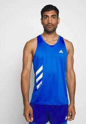 SINGLET - Koszulka sportowa - glow blue