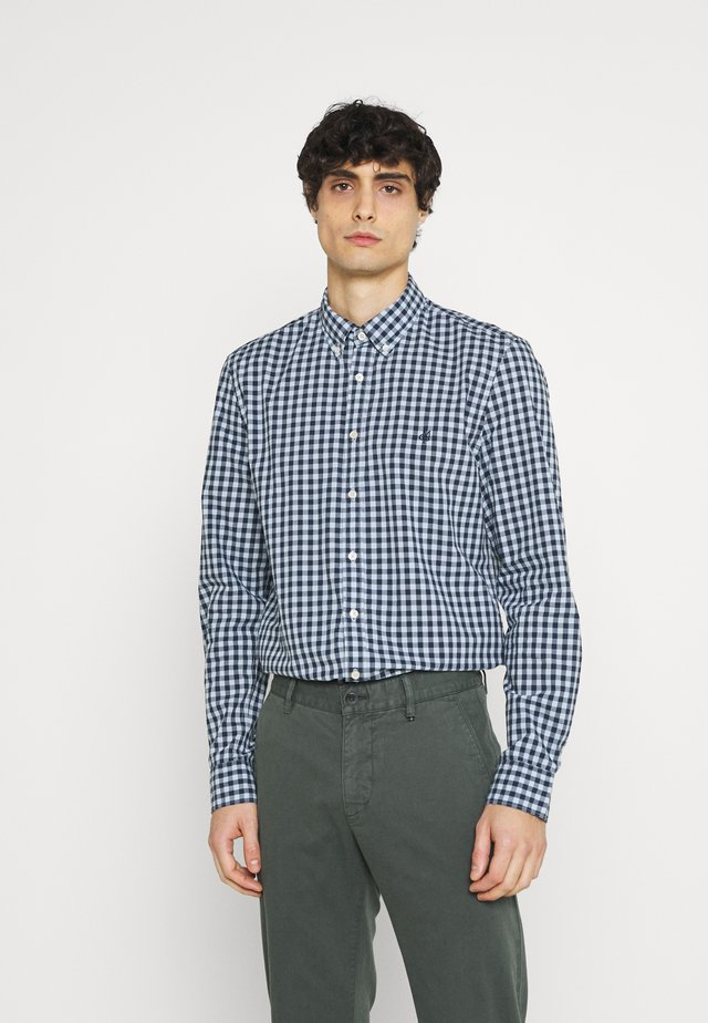 BUTTON DOWN LONG SLEEVE INSERTED - Shirt - multi/airblue