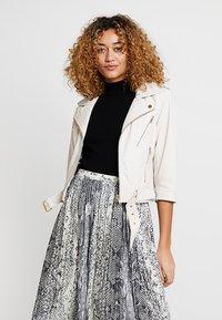 Ibana - Leather jacket - white - 0