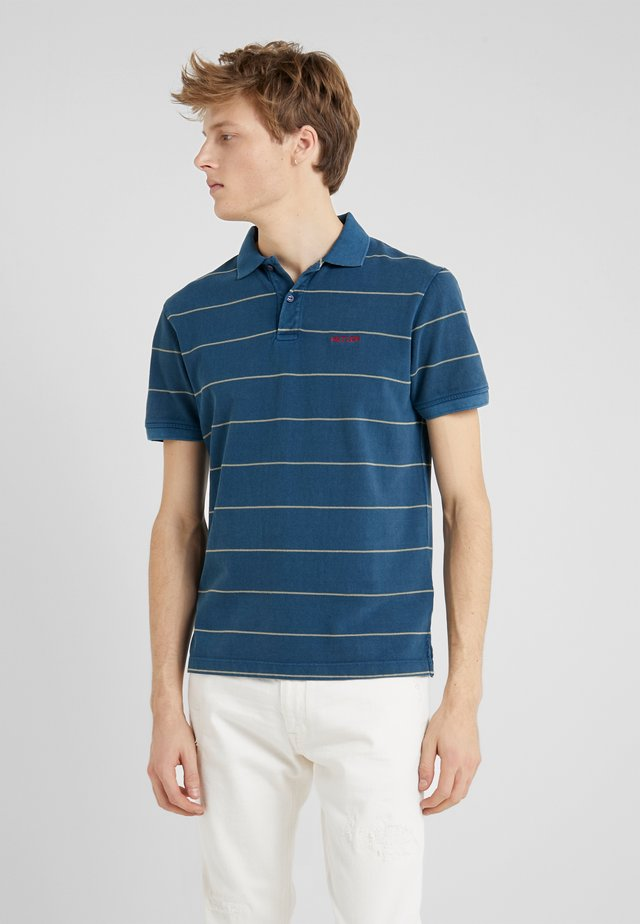 FADED  SLIM FIT - Polo shirt - shadow