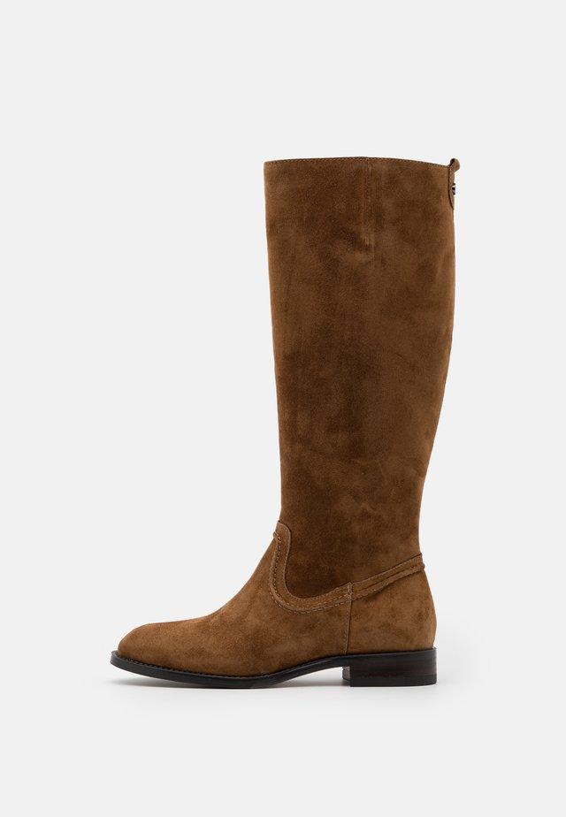 MELANIA - Boots - cognac