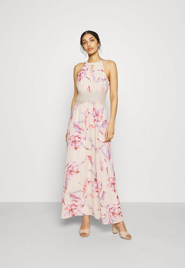 VIMILINA FLOWER DRESS - Společenské šaty - birch/lana