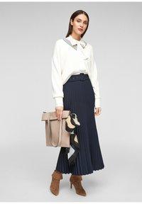 s.Oliver - A-line skirt - blue - 1