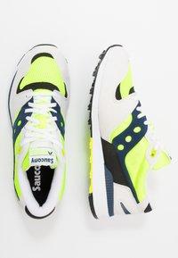 Saucony - AZURA - Sneakers laag - white/citron/denim - 1