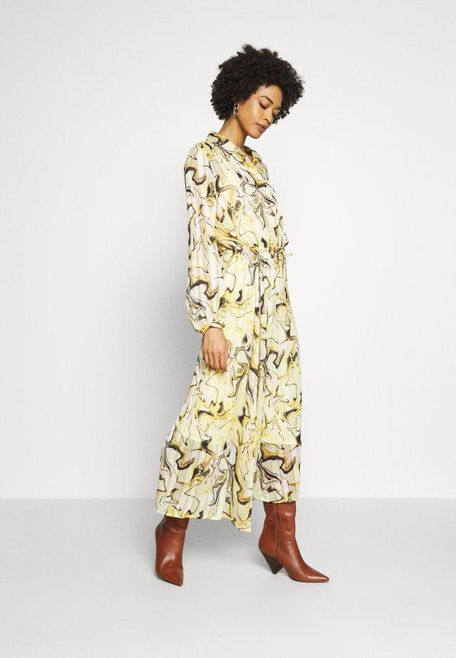 REEMAIW DRESS - Maxi dress - yellow