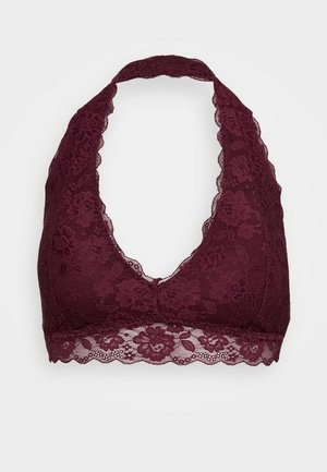 CORE HALTER - Triangel BH - berry wine