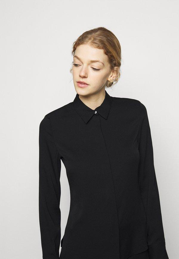 Theory CLASSIC FITTED - Koszula - black/czarny KSJF