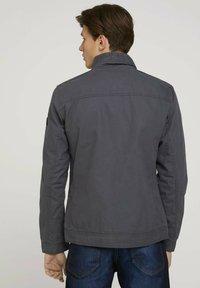 TOM TAILOR - BIKER - Light jacket - tarmac grey - 2