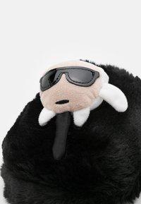 KARL LAGERFELD - KASA - Slippers - black - 5