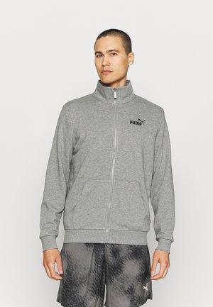 TRACK JACKET - Felpa con zip - medium gray heather