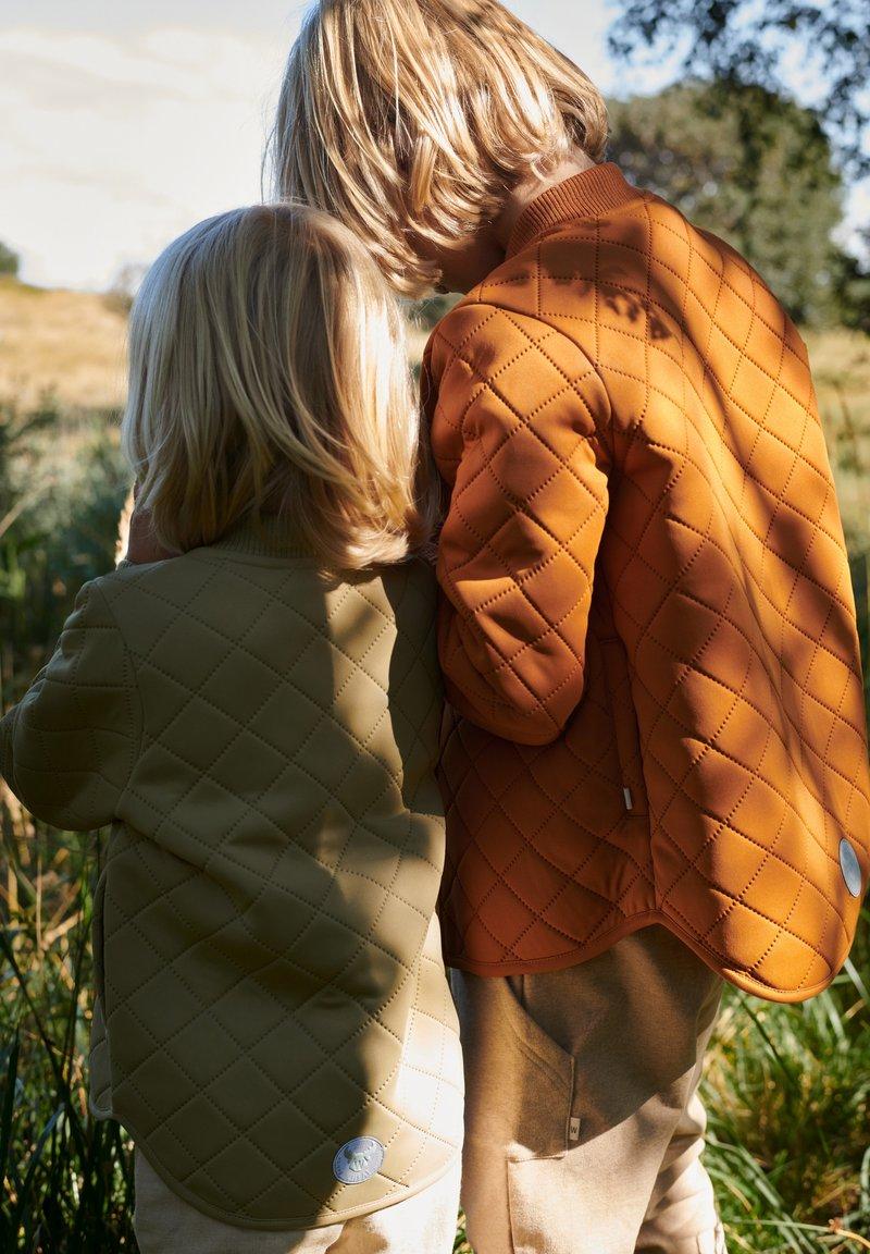 Wheat - LOUI - Winter jacket - terracotta