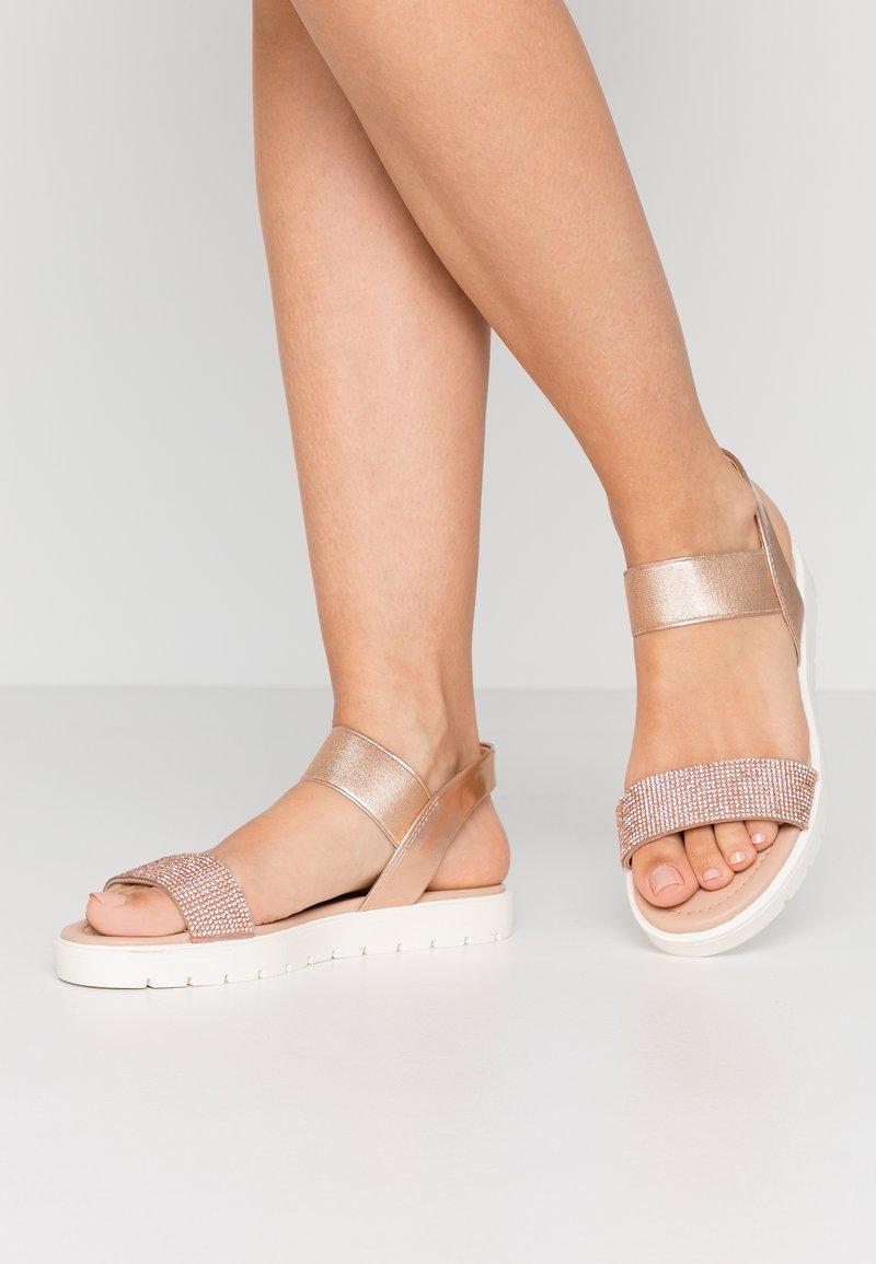 Head over Heels by Dune - NIIAH - Sandales - rose gold
