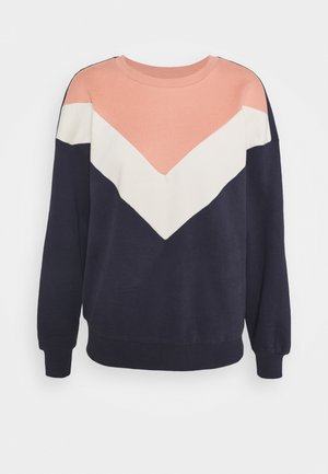 ONLASHLEY  - Sweatshirt - night sky/blue/rose