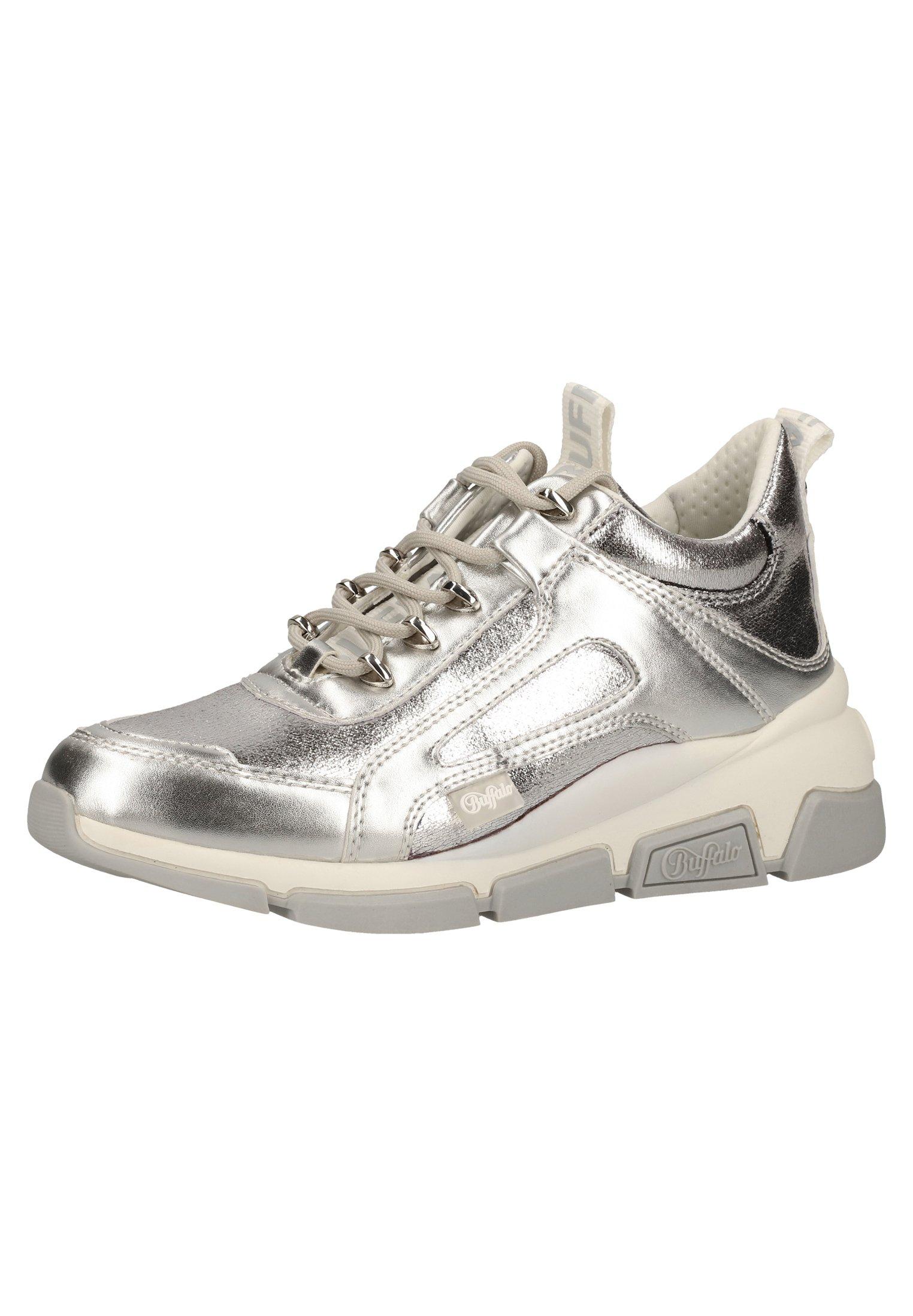 Buffalo Sneaker low silver/silber