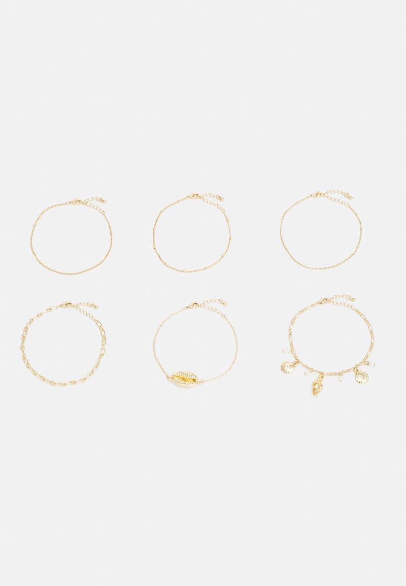Monki - PETTY BRACELETS 6 PACK - Bracelet - gold-coloured