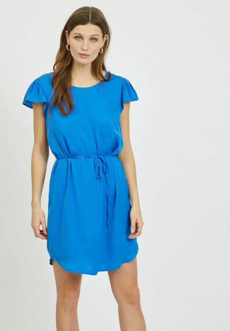 Vila - Day dress - nebulas blue