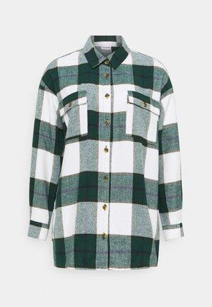 NMFLANNY LONG SHACKET - Summer jacket - pondarosa pine