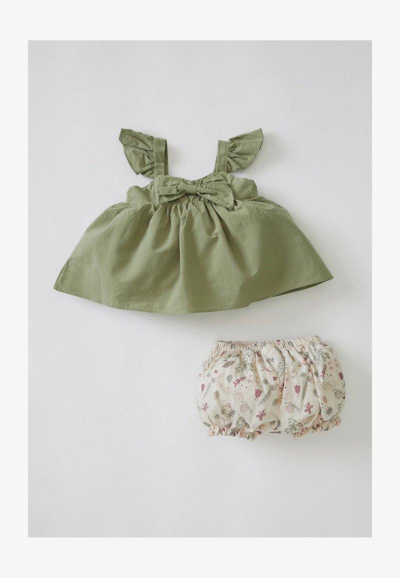DeFacto - SET - Day dress - khaki