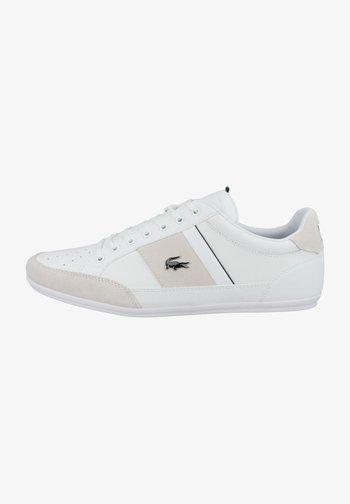 CHAYMON  - Sneakers - white dark green