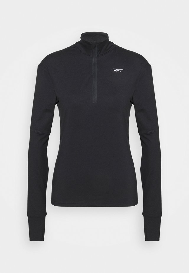 SPEEDWICK RUNNING 1/4 ZIP - Fleecegenser - black