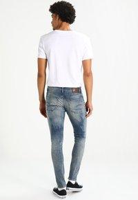 G-Star - 3301 DECONSTRUCTED SUPER SLIM - Slim fit jeans - blue denim - 2