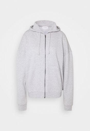 Oversized Hooded Sweat Jacket