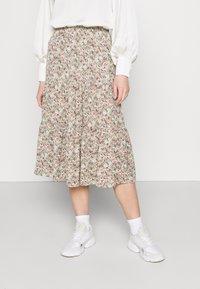 ONLY - ONLKENDALL SKIRT - A-line skirt - pumice stone/green - 0