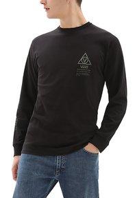 Vans - MN 66 SUPPLY LS - Print T-shirt - black - 0