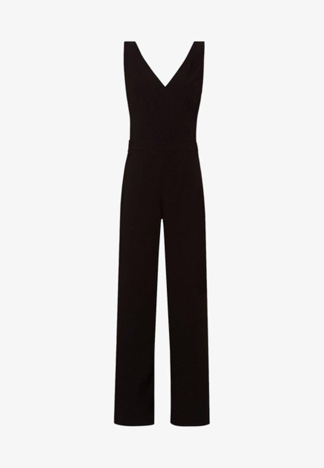 V NECK - Jumpsuit - black