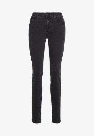BAKER LONG MID WAIST REGULAR LENGTH - Slim fit jeans - black