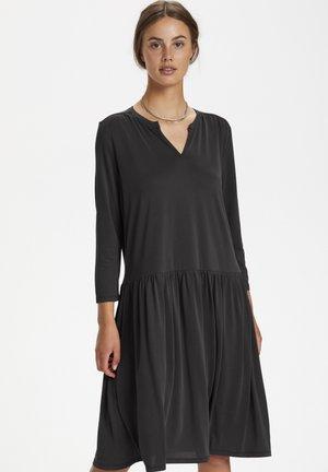 ANITRA DRESS - Jersey dress - black