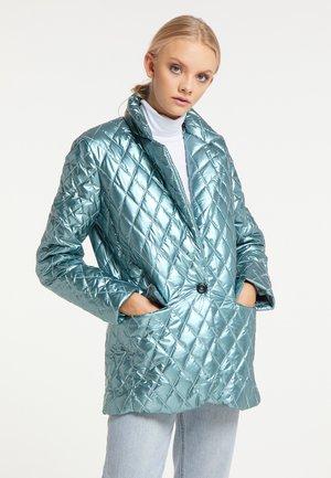 Short coat - hellblau