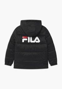 Fila - BROOKLYN PUFFER UNISEX - Winter jacket - black - 1