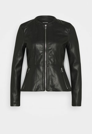 VMBUTTERALBA COATED JACKET - Giacca in similpelle - black