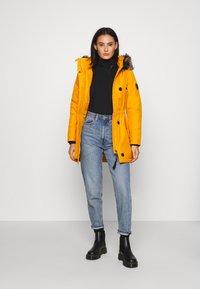 ONLY - ONLIRIS - Winter coat - golden yellow - 1