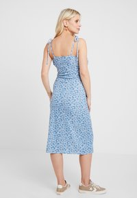 Topshop Maternity - DITSY TWIST DRESS - Jersey dress - blue - 3