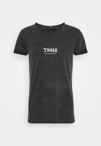 WILD EAGLE WREN - T-shirt med print - vintage black