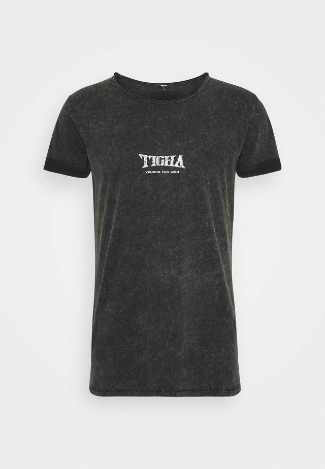 WILD EAGLE WREN - T-shirt imprimé - vintage black