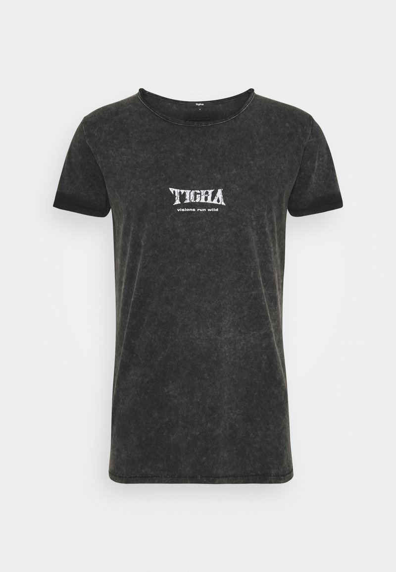 Tigha - WILD EAGLE WREN - Print T-shirt - vintage black