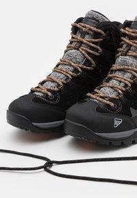 Icepeak - MID CUT WYNNE MS - Hiking shoes - black - 5
