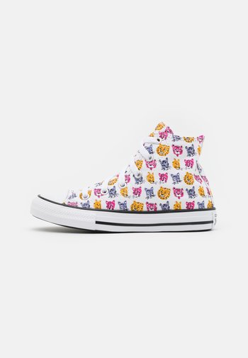 CHUCK TAYLOR ALL STAR JUNGLE CATS UNISEX - Sneakers alte - white/prime pink/black