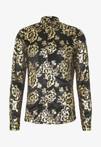 Twisted Tailor - HARTFIELD  - Shirt - black/gold - 4
