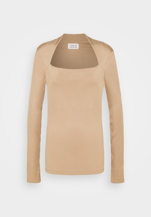 TONE - Long sleeved top - camel