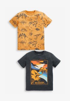 2 PACK - T-shirt print - ochre