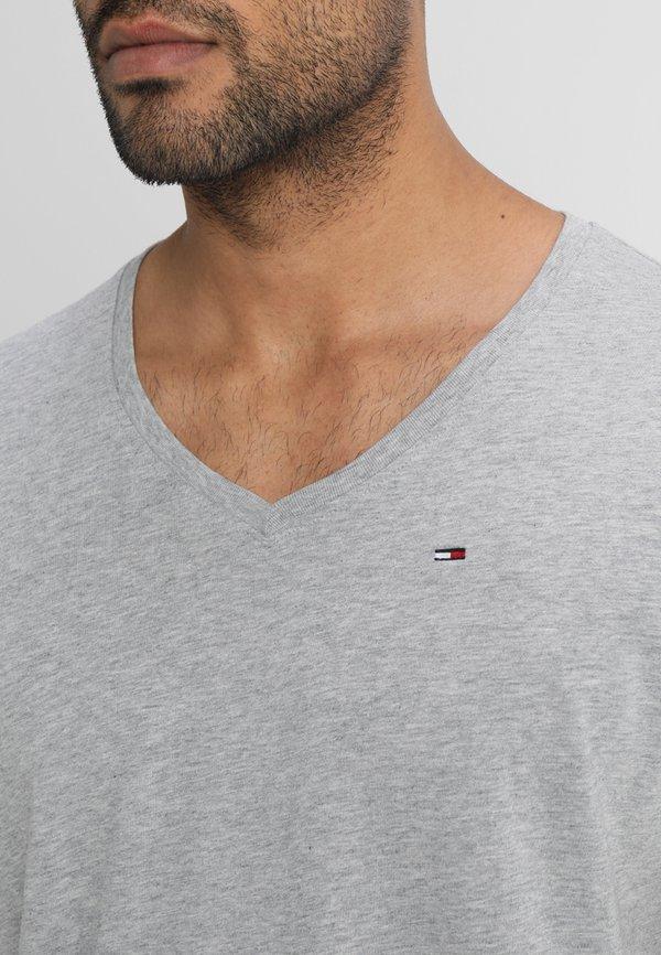 Tommy Jeans ORIGINAL REGULAR FIT - T-shirt basic - light grey heather/szary melanż Odzież Męska CWZZ