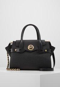 MICHAEL Michael Kors - FLAP SATCHEL - Handbag - black - 0